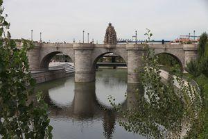 bridge in Madrid, Spain