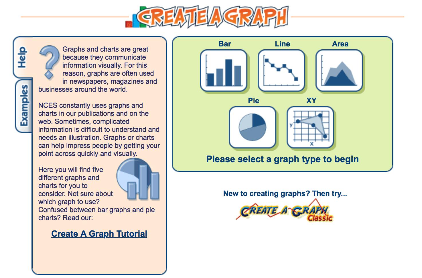 Create a graph homepage.