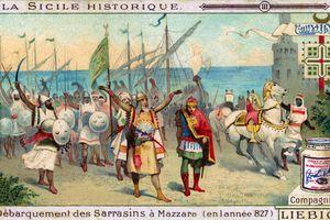 History of Sicily: Arrival of Arabs in Mazara del Vallo