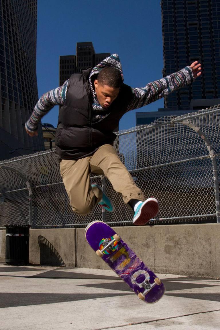 Skateboard Kick Flip