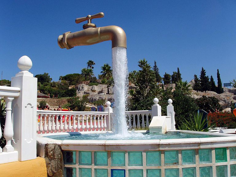 big faucet
