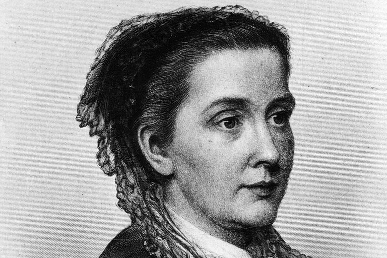 Julia Ward Howe, about 1855