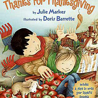 Thanks for Thanksgiving children's Thanksgiving picture book