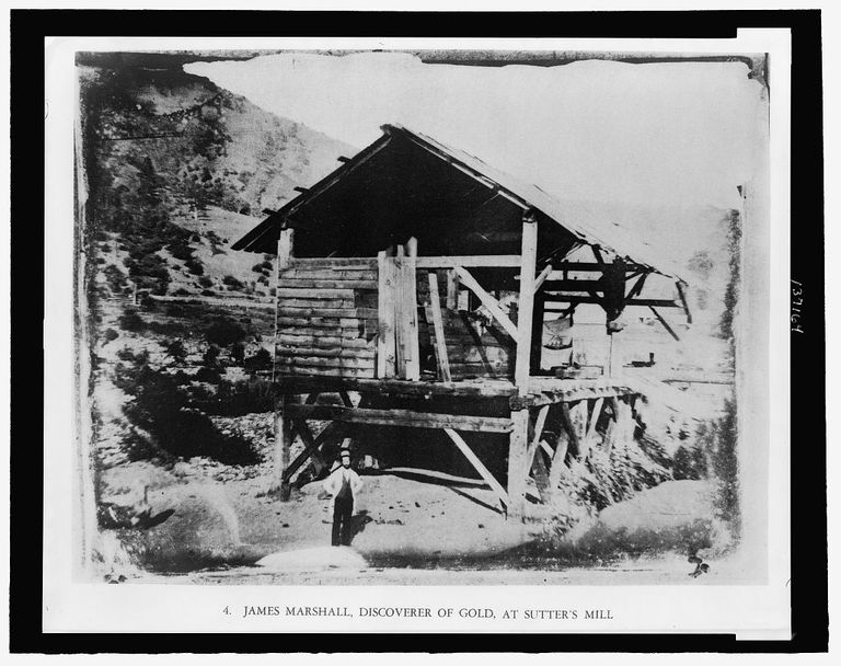 Sutter's Mill - James Marshall and the Discovery of Gold in California