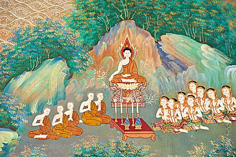 Mural in Thai Temple