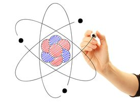 The three main subatomic particles of an atom are protons, neutrons, and electrons.
