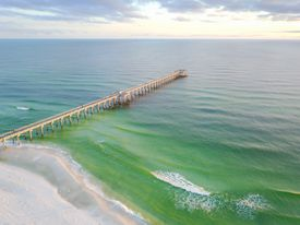 Aerial View of Gulf of Mexico