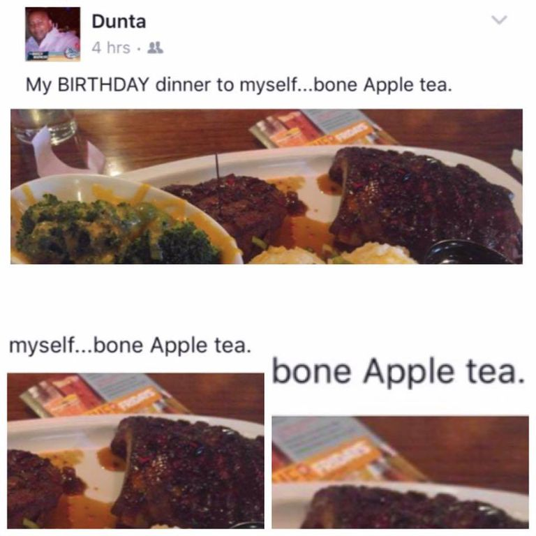 bone apple tea meme
