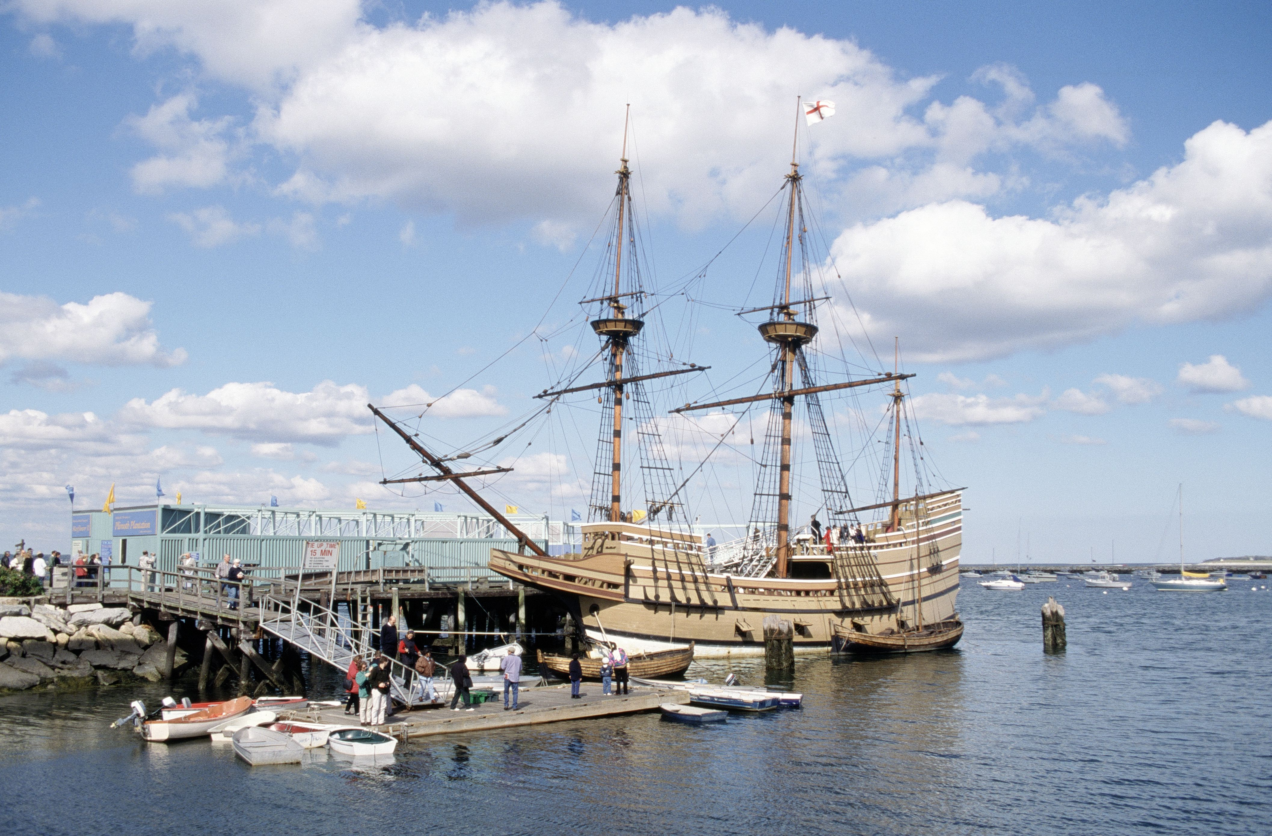 Replica, Mayflower II, Plymouth, MA