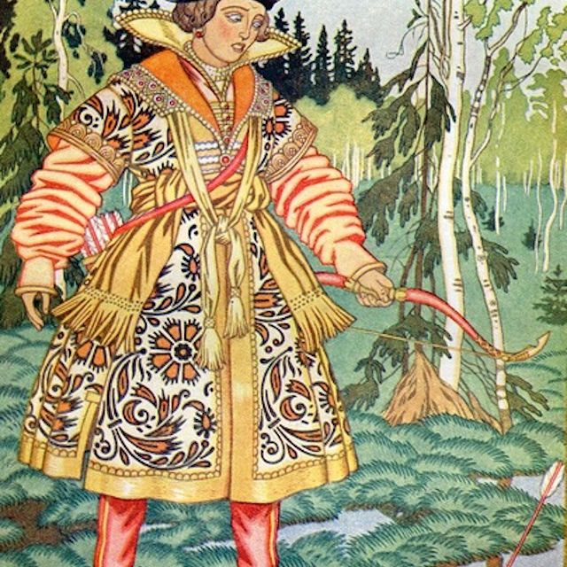 Ivan the Tsar's son and the Frog