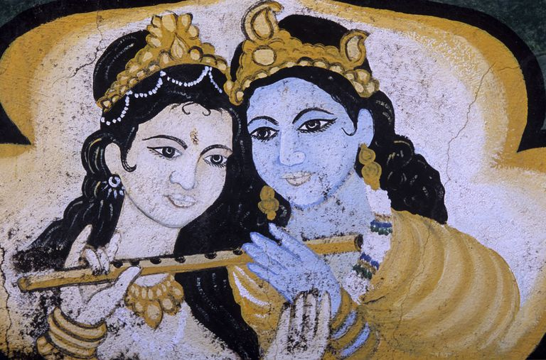 Mural Painting of Yogeswar Temple