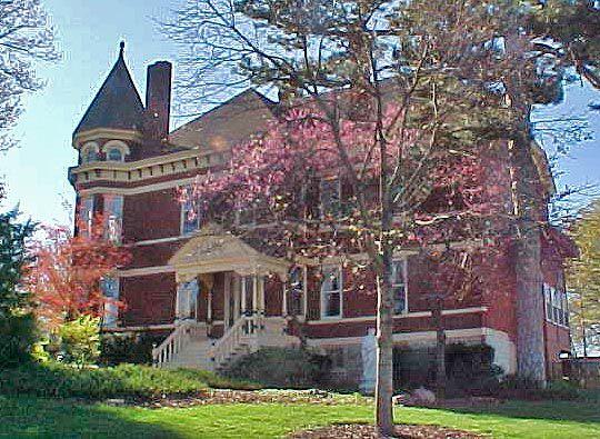 Construit en 1892, Skyview Mansion est un victorienne Queen Anne à Leavenworth, Kansas