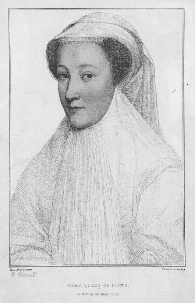 Mary, Queen of Scots, Dowager Queen of France