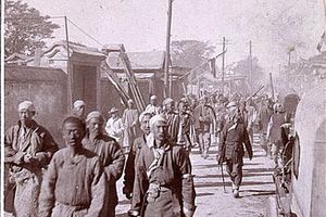 The Boxers, or Righteous Harmony Society, fought to eradicate foreign influence from China