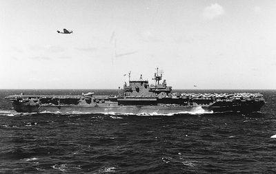 USS Hornet (CV-12) in World War II