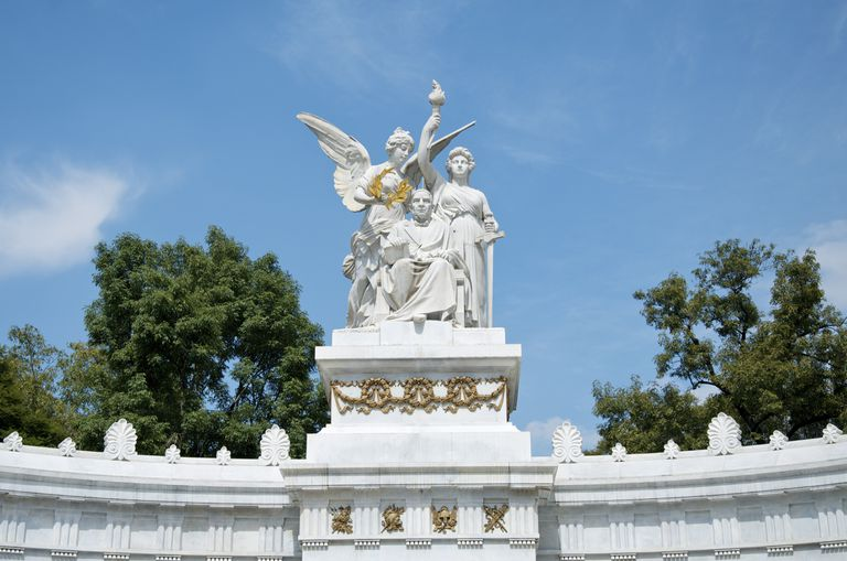 Monument to Benito Juárez in Mexico City