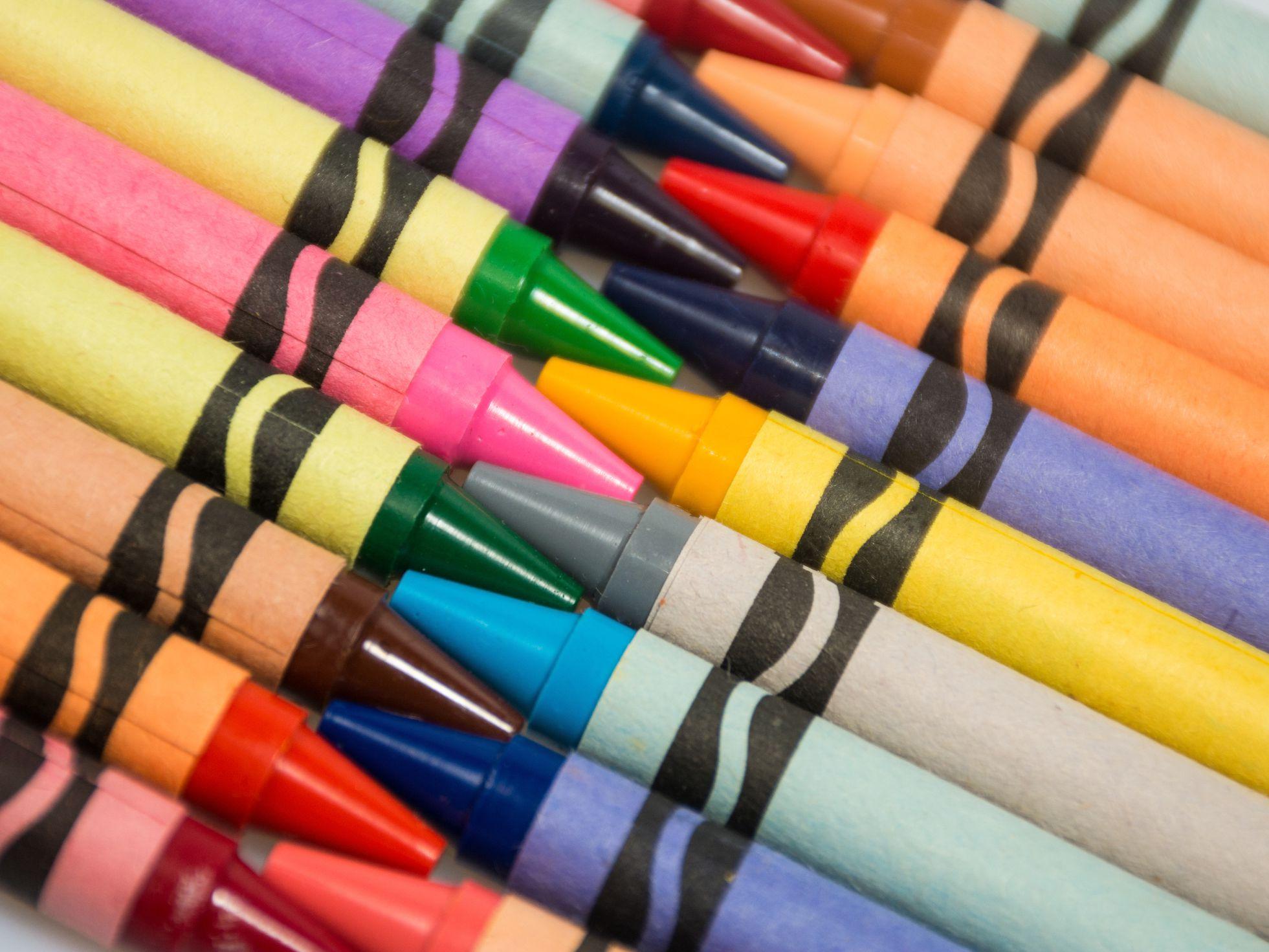 The History Behind Crayola Crayons