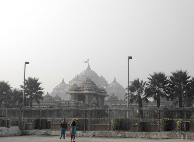 Swaminarayan Temple, New Delhi, January 2012