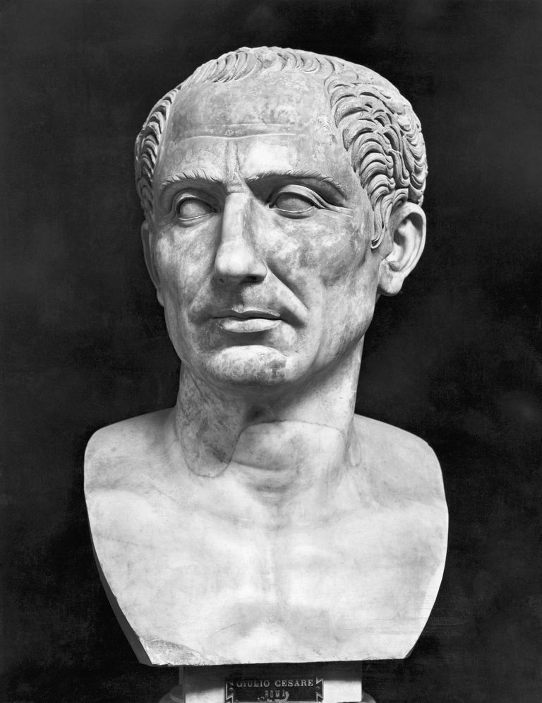 Bust of Julius Caesar, National Museum in Naples.