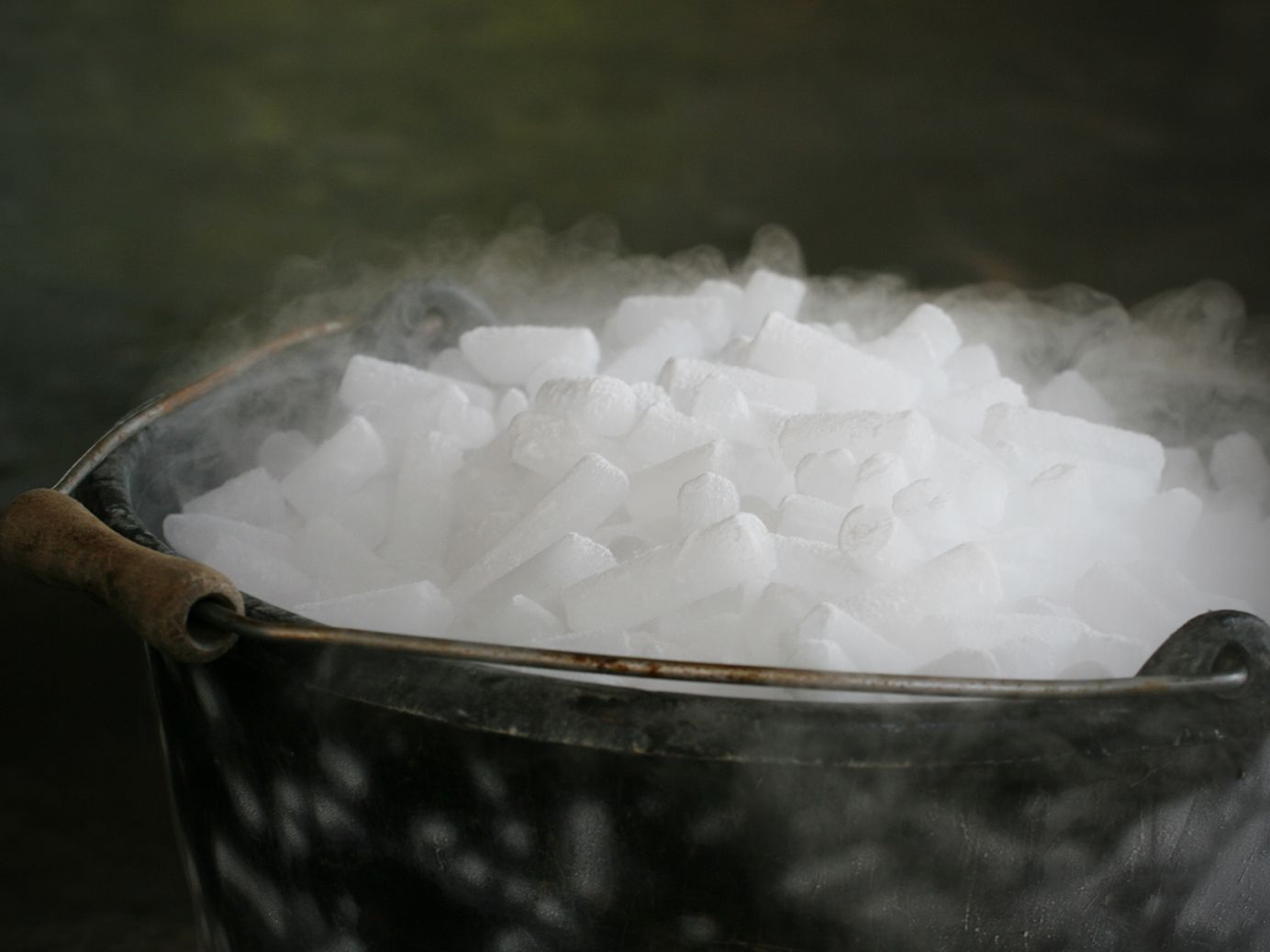 Homemade Dry Ice Recipe