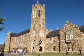 Barret Library at Rhodes College