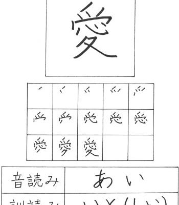 100 Of The Most Common Kanji Characters