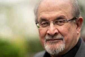 Salman Rushdie at the Cheltenham Literature Festival 2019