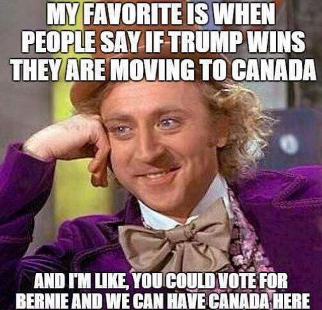 If Trump Wins Moving To Canada