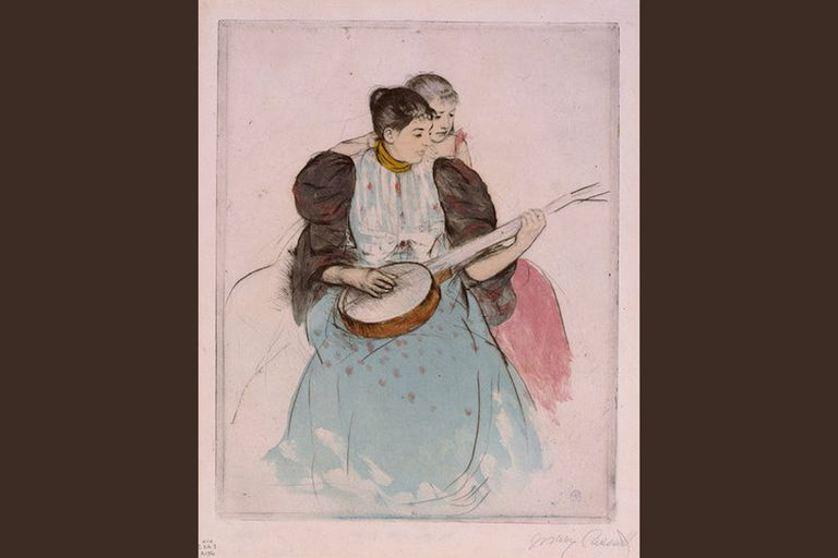 Mary Cassatt - The Banjo Lesson