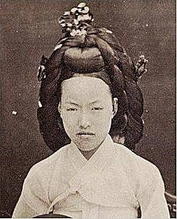 Queen Min of Joseon Korea, who was assassinated by the Japanese in 1895.