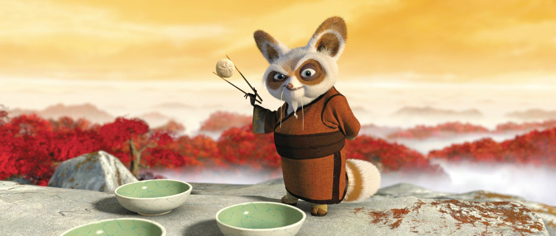 who are the most memorable kung fu panda characters?