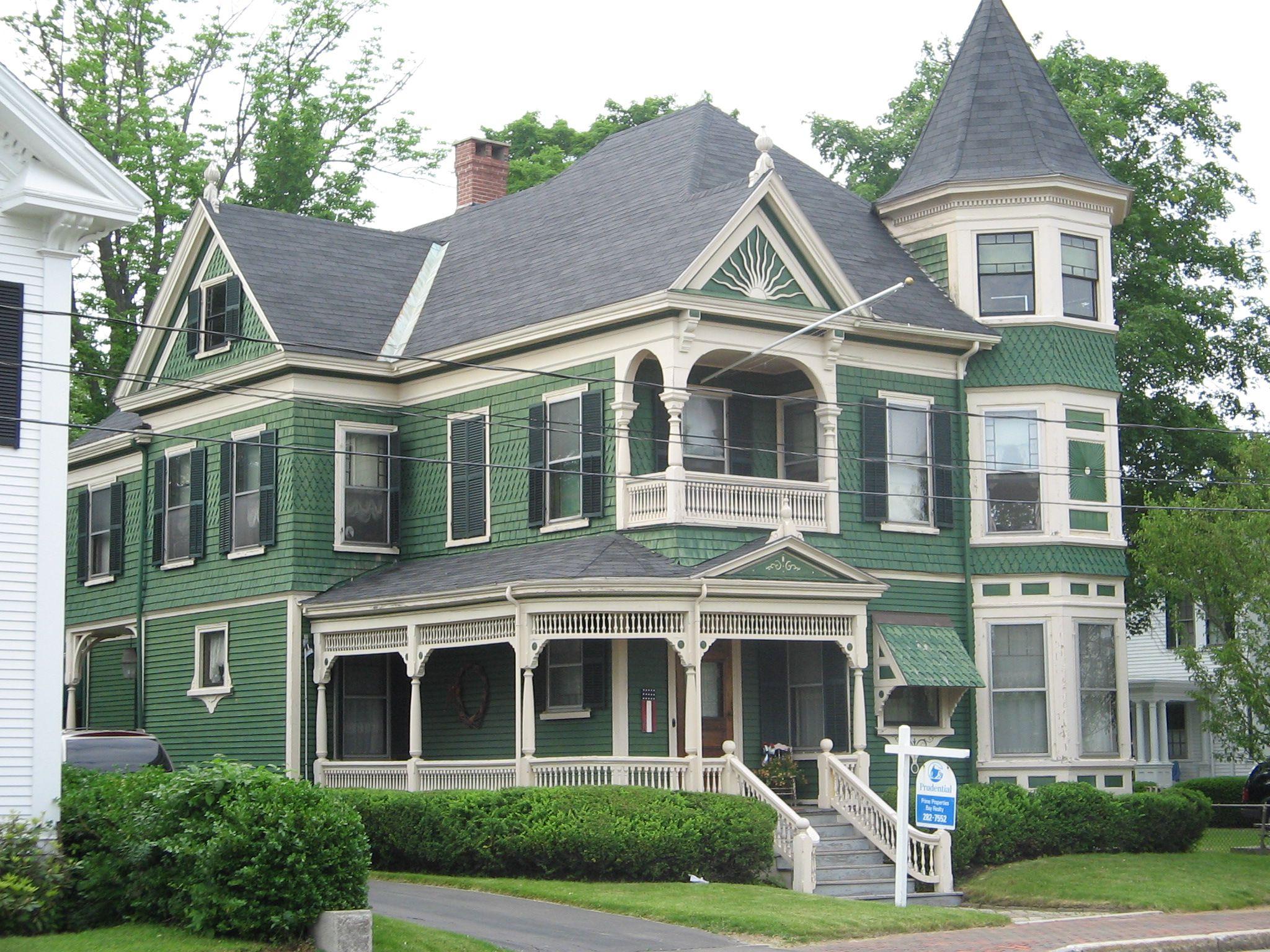 Victorienne à Saco, Maine