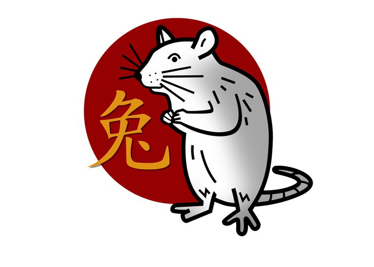 Chinese zodiac sign for year of the rat