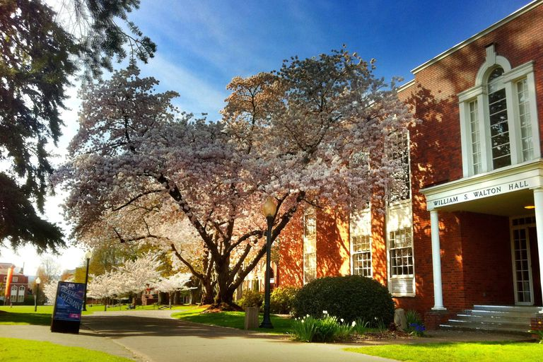 Walton Hall at Willamette University