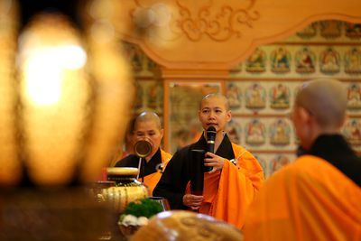 what role did zen buddhism play Zen priests are also used by zen priests to improve the concentration while by raking the garden what role did missionaries play in spreading buddhism missionaries work to spread their religious.