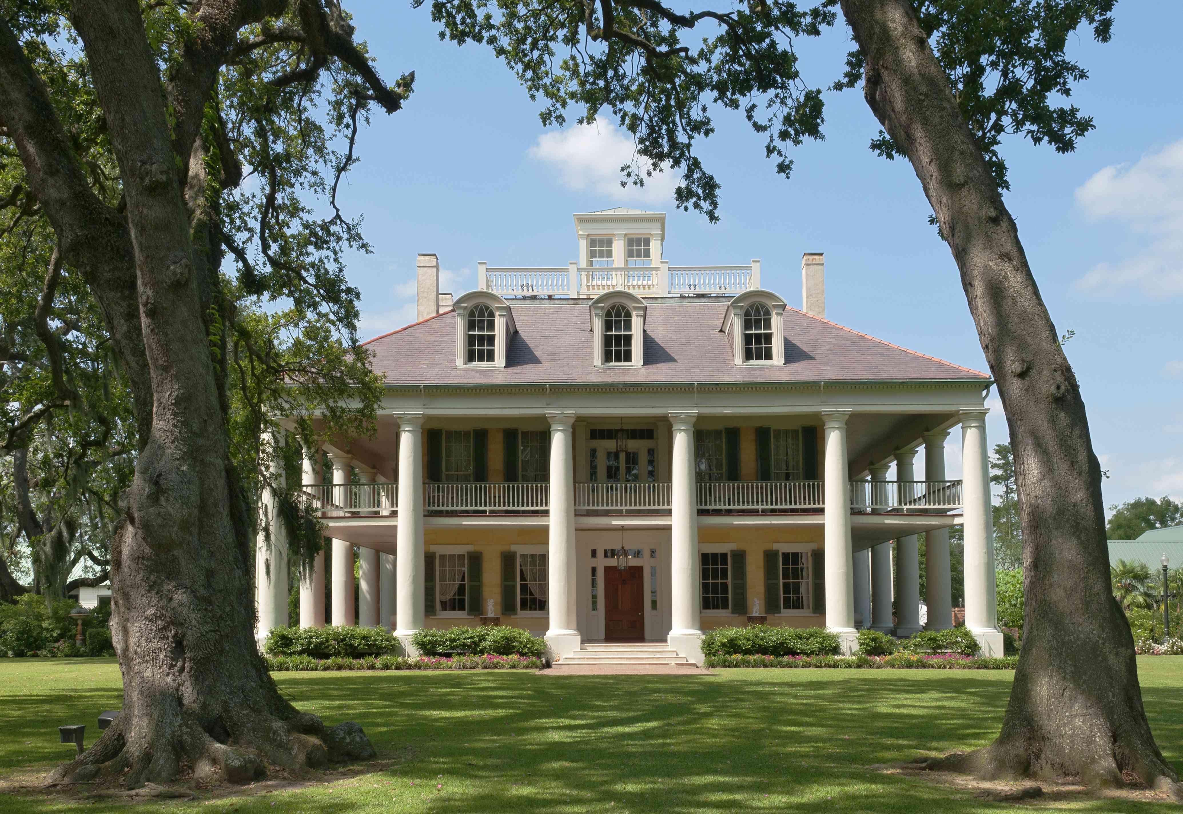 Greek Revival Mansion at Houmas House Plantation and Gardens