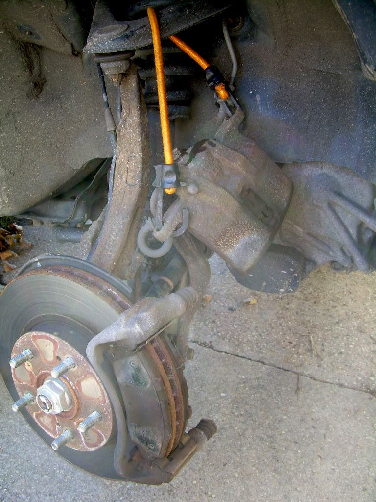 How To Change Your Brake Pads Rover Brakes Diagram