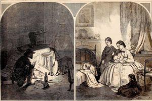 Illustration of 1864 Confederate Plot to Burn New York