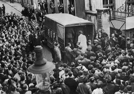 photo of Gestapo arrests in Czechoslovakia
