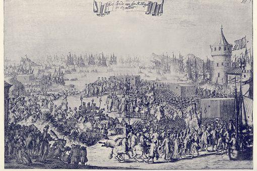The Landing of William of Orange, 1688