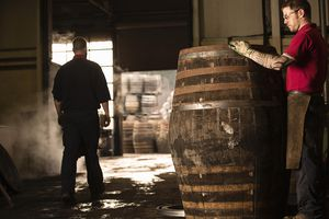 Coopers who made and sold casks and barrels often became known by the name of their occupation.