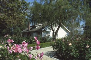 Birthplace home of President Richard Nixon, Yorba Linda, California