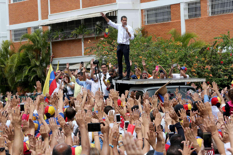 Juan Guaidó rally, May 2019