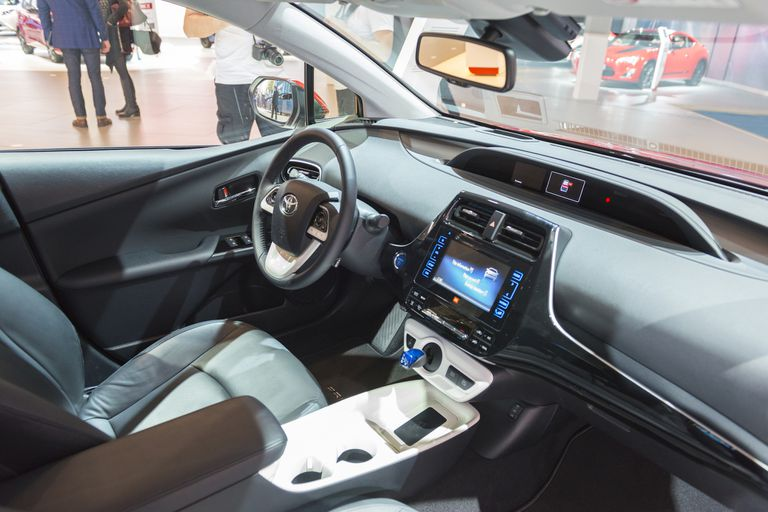 New Toyota Prius Hybrid Fourth Generation Interior