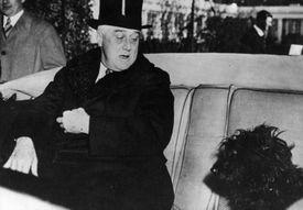 President FDR and Dog Fala
