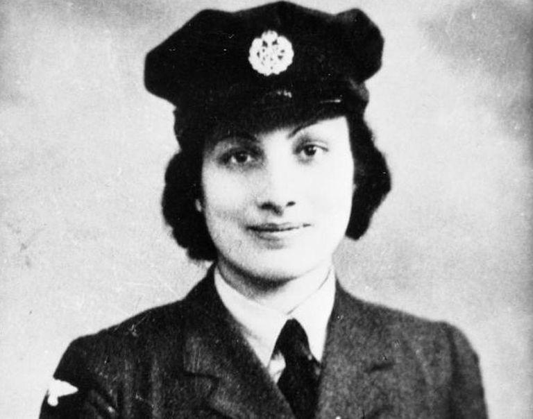 Noor Inayat Khan in uniform