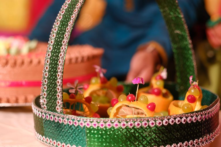 indian wedding foods and fruits