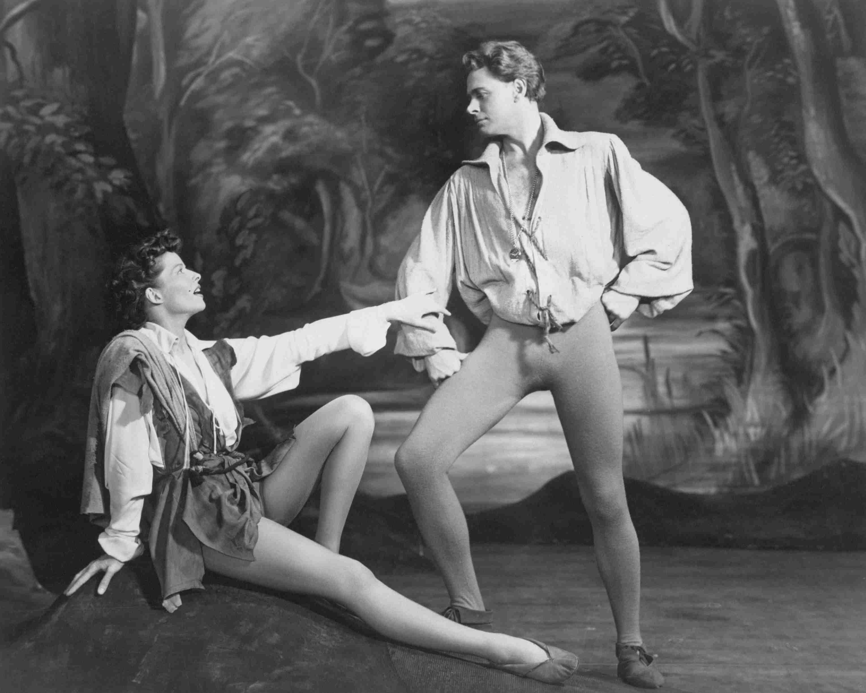 Katharine Hepburn and William Prince