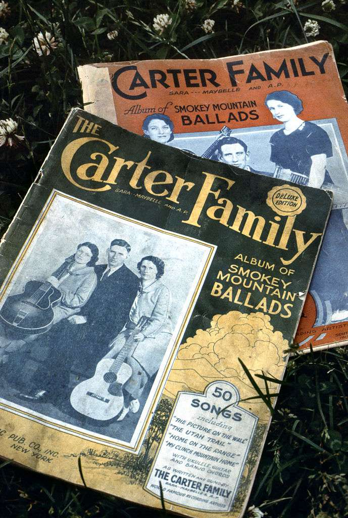 Copies of The Carter Family Album of Smokey Mountain Ballads