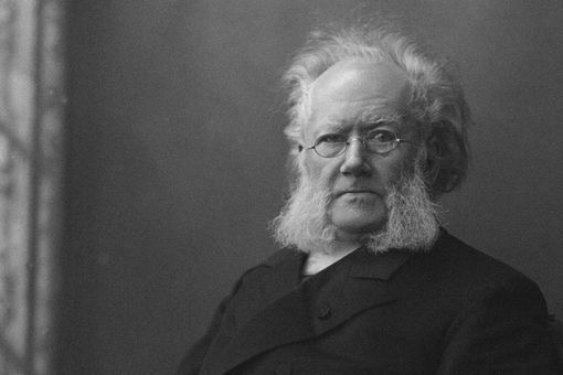 Portrait of Henrik Ibsen (1828-1906). Artist: Anonymous